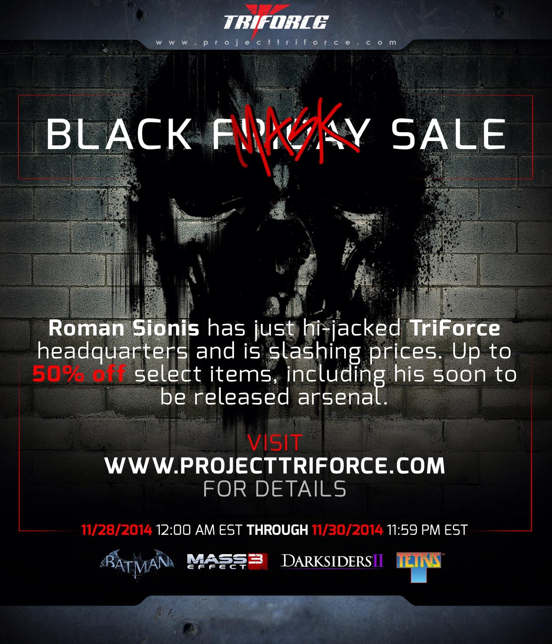Project TriForce Sale